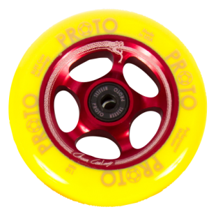 PROTO Gripper Wheel 110 Red / Yellow