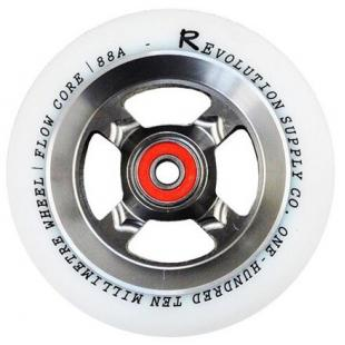 Revolution Flow 110 Wheel Silver / White