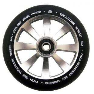 Revolution Twin Core Wheel 110 Silver / Black