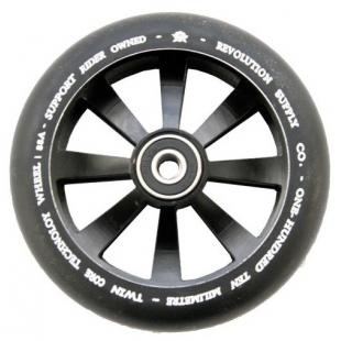 Revolution Twin Core Wheel 110 Black