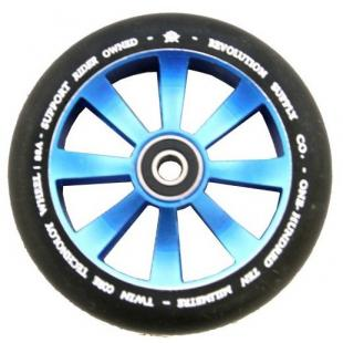 Revolution Twin Core Wheel 110 Blue / Black