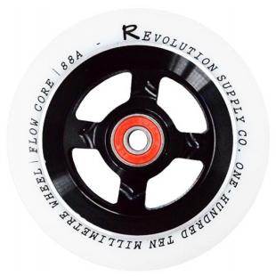 Revolution Flow 110 Wheel Black / White