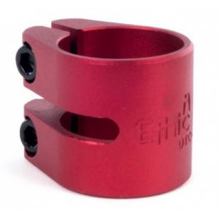 Ethic ALU clamp Red