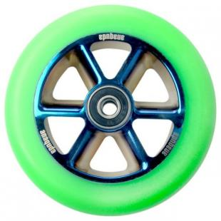 Anaquda Taipan Wheel 110 BlueChrome / Green