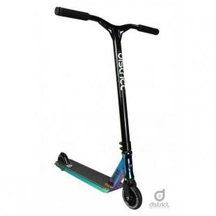 District C050 Scooter Chrome / Black