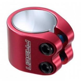 Fasen Clamp 2 Bolts Red