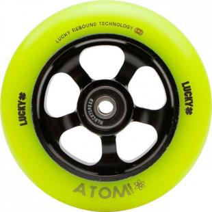 Lucky Atom 110 Wheel Yellow