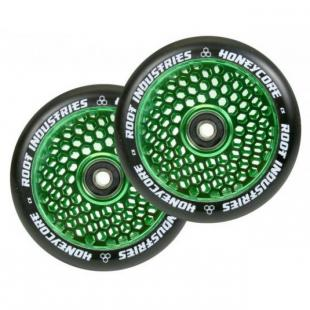 Root Honeycore Wheel 110 Green / Black