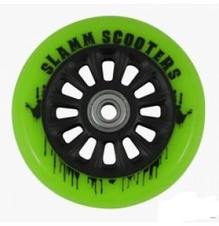 Slamm 100 mm Black/Green + ABEC 7