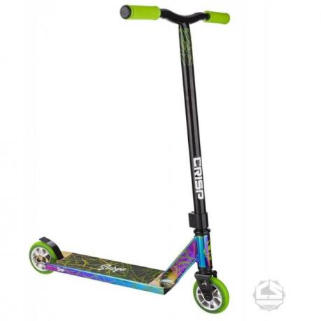 Crisp Surge Scooter Chrome Green