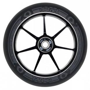 District Dual Width Core Wheel 110 Black Grey