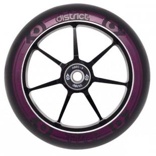 District Dual Width Core Wheel 110 Black Magenta
