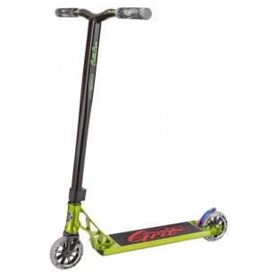 Grit Tremor Scooter 2018 Polished Green / Black
