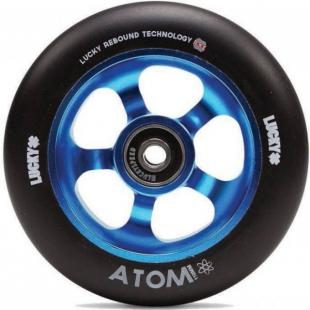 Lucky Atom 110 Wheel Blue