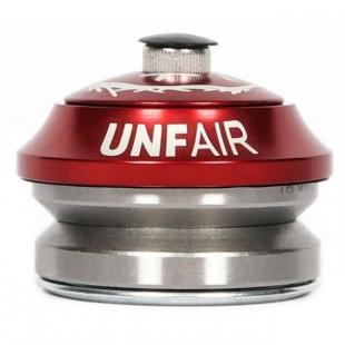Unfair Headspin Headset Red