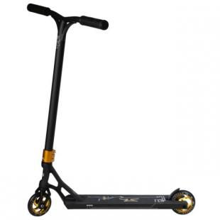 AO Quadrum 2 Scooter Black Gold