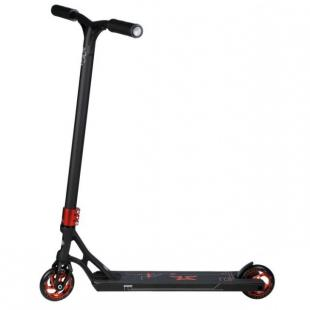 AO Quadrum 2 Scooter Black Red