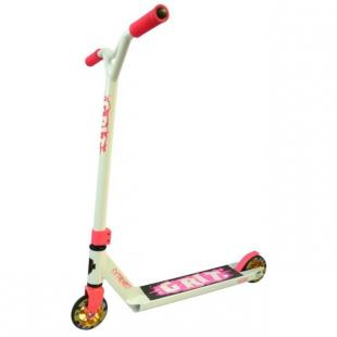 Grit Extremist Scooter White Fluro Pink