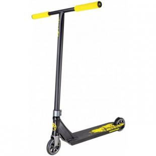 Addict Defender V2 Scooter Black Yellow