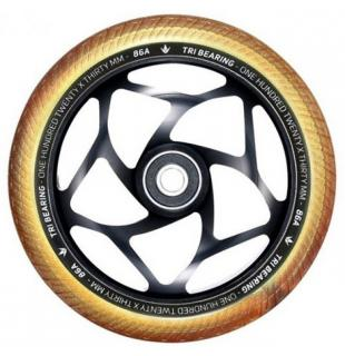 Blunt Tri Bearing 120 Wheel Gold Black