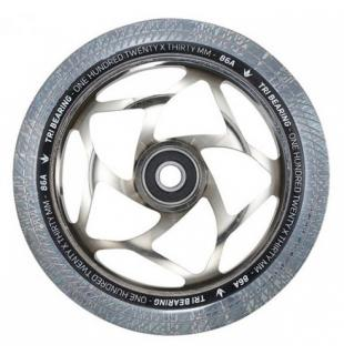 Blunt Tri Bearing 120 Wheel Clear Chrome