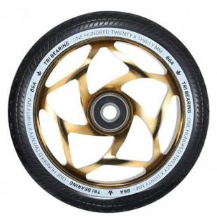 Blunt Tri Bearing 120 Wheel Black Gold