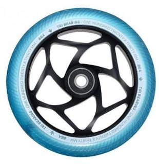 Blunt Tri Bearing 120 Wheel Teal Black
