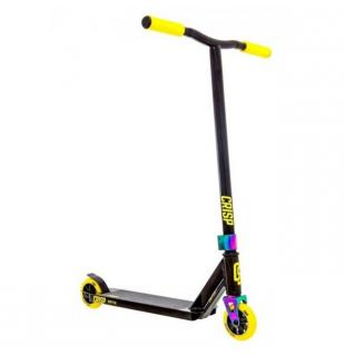Crisp Switch Scooter Black Yellow