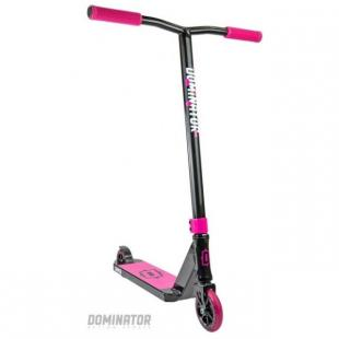 Dominator Sniper Scooter Black Pink