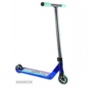 Dominator Team Edition Scooter Navy Chrome
