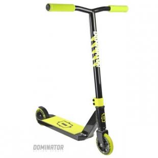 Dominator Trooper Scooter Black Yellow