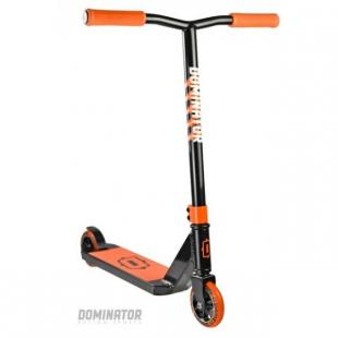 Dominator Trooper Scooter Black Orange