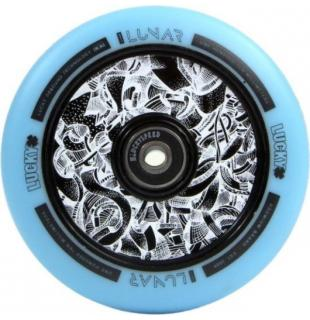 Lucky Lunar Hollow Wheel 110 Axis Teal