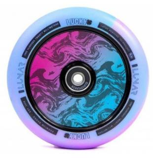 Lucky Lunar Hollow Wheel 120 Pink Blue