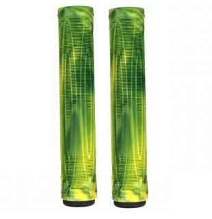 Raptor Cory V Grips Swirl Green Yellow