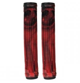 Raptor Cory V Grips Swirl Red Black