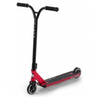 Slamm Assault IV Scooter Red