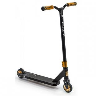 Slamm Classic VII Scooter Black Gold