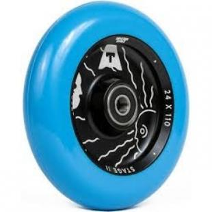 Tilt Theory 110 Wheel Blue